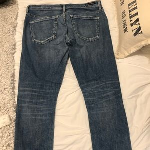 Citizen light/medium wash boyfriend jean